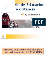 Presentacion Modelo Educativo Uniminuto Virtual y Distancia