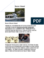 The Beast of Baxter Island