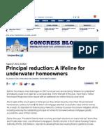 Principal Reduction
