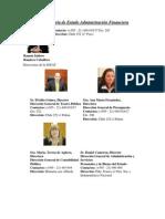 Subsecretaría de Estado Administración Financiera