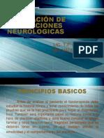 EVALUACIÓN DE ALTERACIONES NEUROLOGICAS