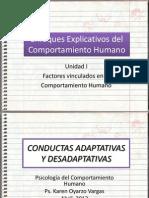 3 Conducta Adaptativa y Desadaptativa
