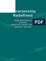 Librarian Ship Redefined