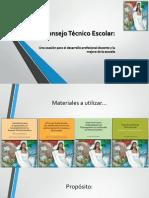 DIA 3 El Consejo Técnico Escolar A046