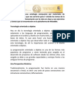 1 Tecnologia Orientada a Objetos y Metodlogias Emergentes