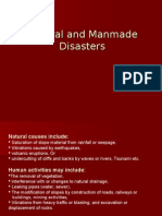 Natural & Manmade Disasters
