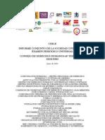 Informe Conjunto Sociedad Civil Para EPU