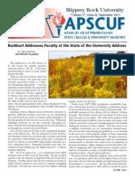 apscuf newsletter