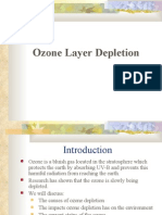 Ozone Layer Depletion