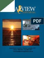 Sea View Function Brochure