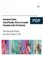 Roche International Taxation
