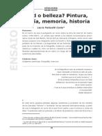 Malosetti Costa, Laura - Verdad o belleza Pintura, fotografía, memoria, historia