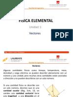Física Elemental unit 1_3 Vectores