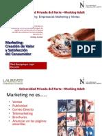 Marketing satisfacción de necesidades del consumidor
