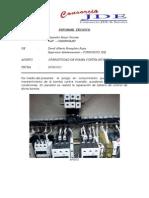 Informe Tecnico - Bomba Del Sistema Contra Incendios