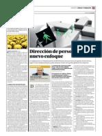 Dirección de personas, nuevo enfoque.Juan Luis Garrigós.