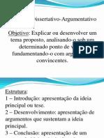 Texto Dissertativo-Argumentativo - Estrutura