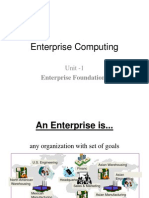 1.Enterprise Architectural Overview