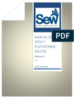 Manual Del Sitio y Plataforma SECTUR - Distintivo H - V2.0