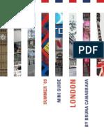 London Mini Guide Summer 2009