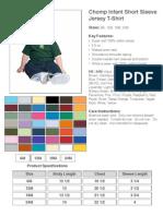 Chomp Infant Short Sleeve Jersey T-Shirt