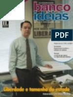 Revista Banco de Ideias n° 40 - Liberdade e tamanho do Estado - Matéria de capa