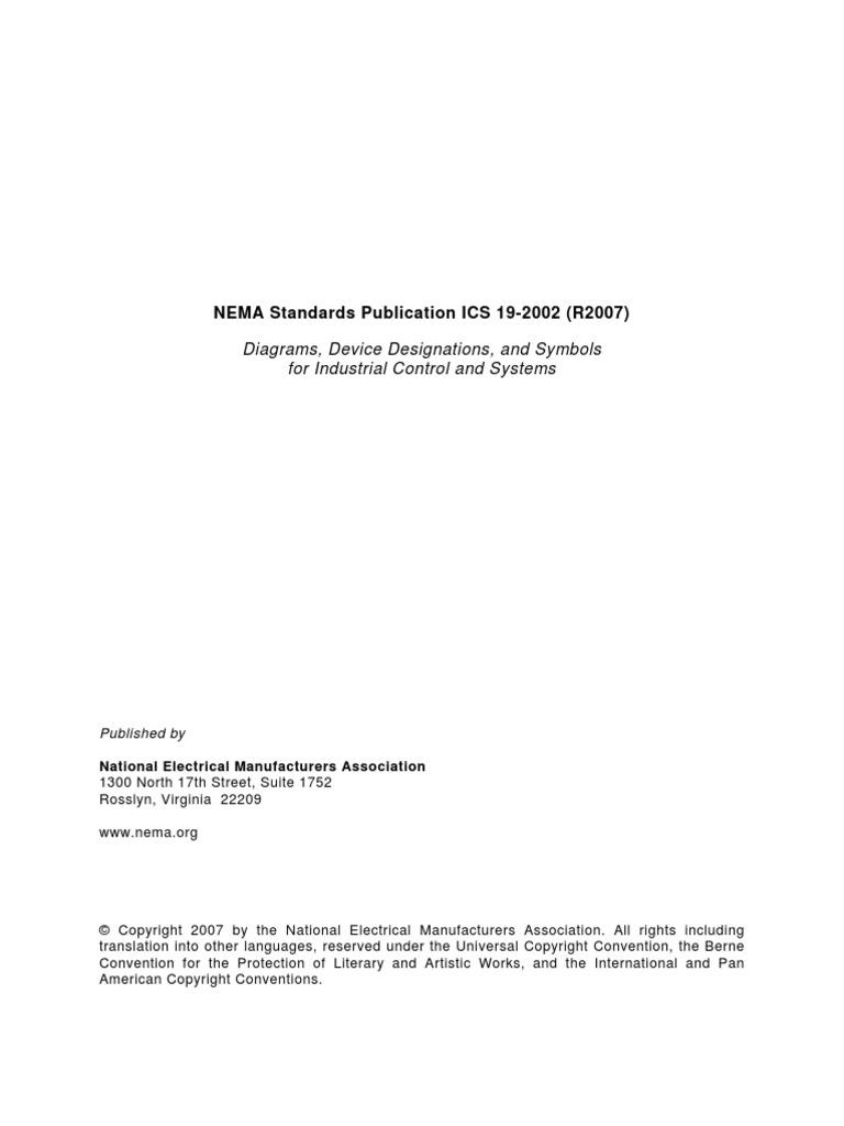 Nema Handbook Electrical Wiring Relay