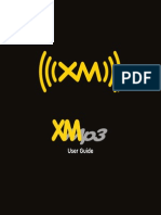 Pioneer XMp3 Owners Manual
