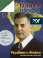 Revista Banco de Ideias n° 39 - Matéria de Capa - Populismo e ditadura