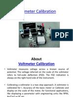 Voltmeter Calibration
