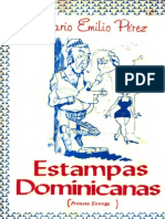 Mario Emilio Pérez - Estampas dominicanas