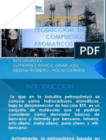 Produccion de Compuestos Aromaticos Btx (1)