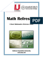 Math Refresher Student Book2