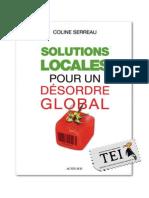 16. Coline Serreau (ed.) - Soluții locale pentru o dezordine globală - TEI - color print