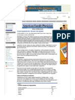 Acute Appendicitis_ Review and Update - November 1, 1999 - American Family Physician