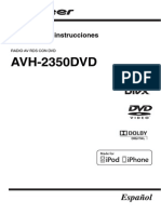 Operating Manual (Avh-2350dvd) - Esp
