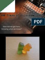 110 Years of Vulnerabilities