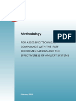Methodology for assessing technical compliance with the FATF Recommendations and the Effectiveness of AML/CFT systems