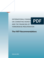 International Standards on Combating Money Laundering and the Financing of Terrorism & Proliferation - the FATF Recommendations