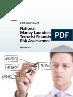National money laundering and terrorist financing risk assessment
