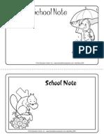 School Note