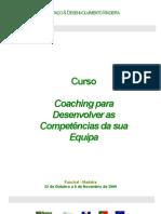 Curso Coaching para Desenvolver as Competências da sua Equipa