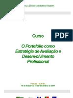 Curso O Portefólio como Estratégia de Avaliação e Desenvolvimento de Competências