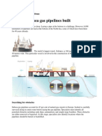 Concept of Subsea Pipelines