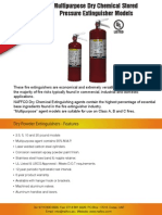 Dry Powder Fire Extinguisher (UL & FM Approved)