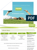 eCommerce @ Neev 2013