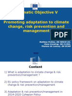 Presentation Adaptation & Risk Prevention