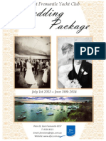 Wedding Package 2013