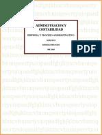 Empresa y Proceso Administrativo