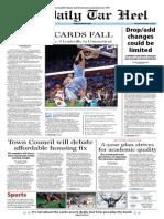 The Daily Tar Heel for November 25, 2013